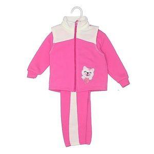NEW 3 Piece Vest Sweater Pants Set Girl Size 12 mo